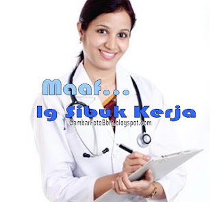 dp bbm gambar dokter bekerja kerja