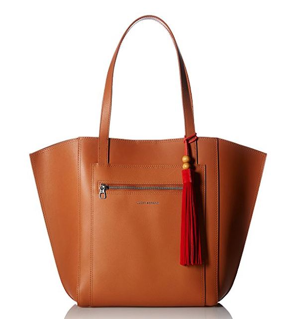 Amazon: Lucky Brand Maya Tote only $74 (reg $198) + free shipping and returns!