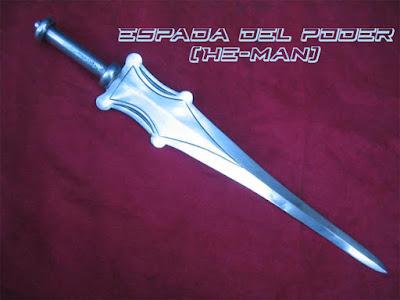 Espada fantástica del poder He-Man