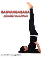Savangasana for stress