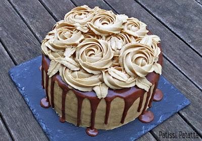 layer cake, gâteau à la réglisse, dessert à la réglisse, layer cake poires, layer cake réglisse, riquolice layer cake, pears layer cake, pâtisserie, gâteau design, cake design, patissi-patatta
