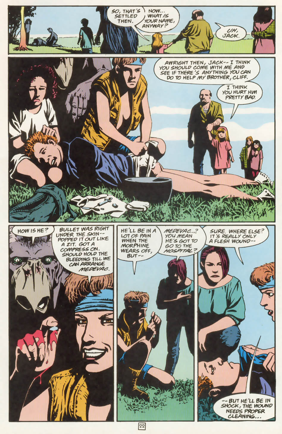 Read online Animal Man (1988) comic -  Issue #77 - 23