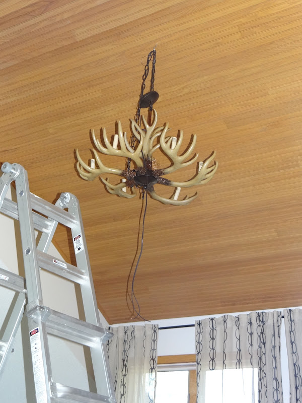 One Project At A Time Diy Blog 190 Hanging An Antler