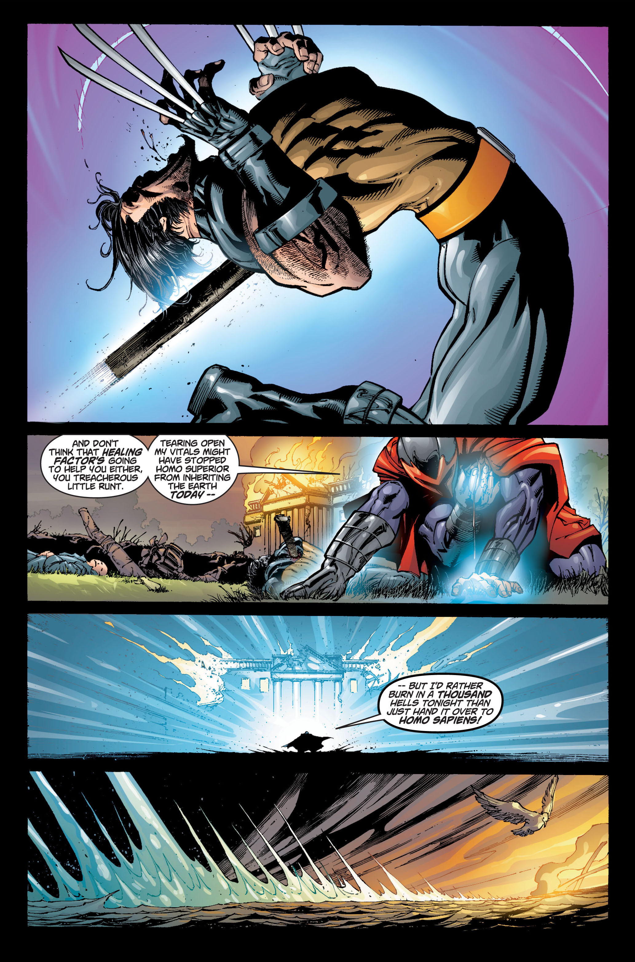 Read online Ultimate X-Men comic -  Issue #6 - 16