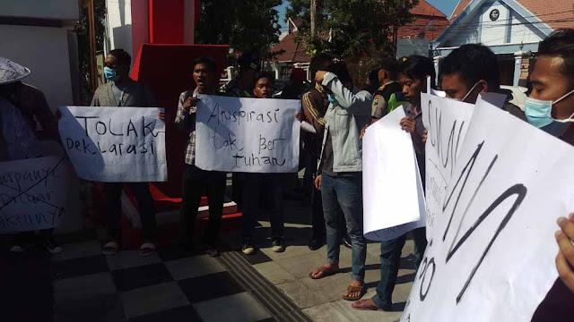Polda Jatim tak Keluarkan Izin Deklarasi Ganti Presiden di Surabaya