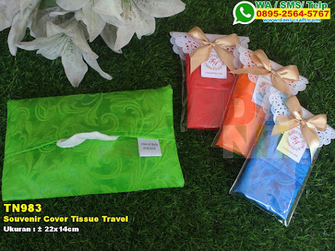 Souvenir Cover Tissue Travel