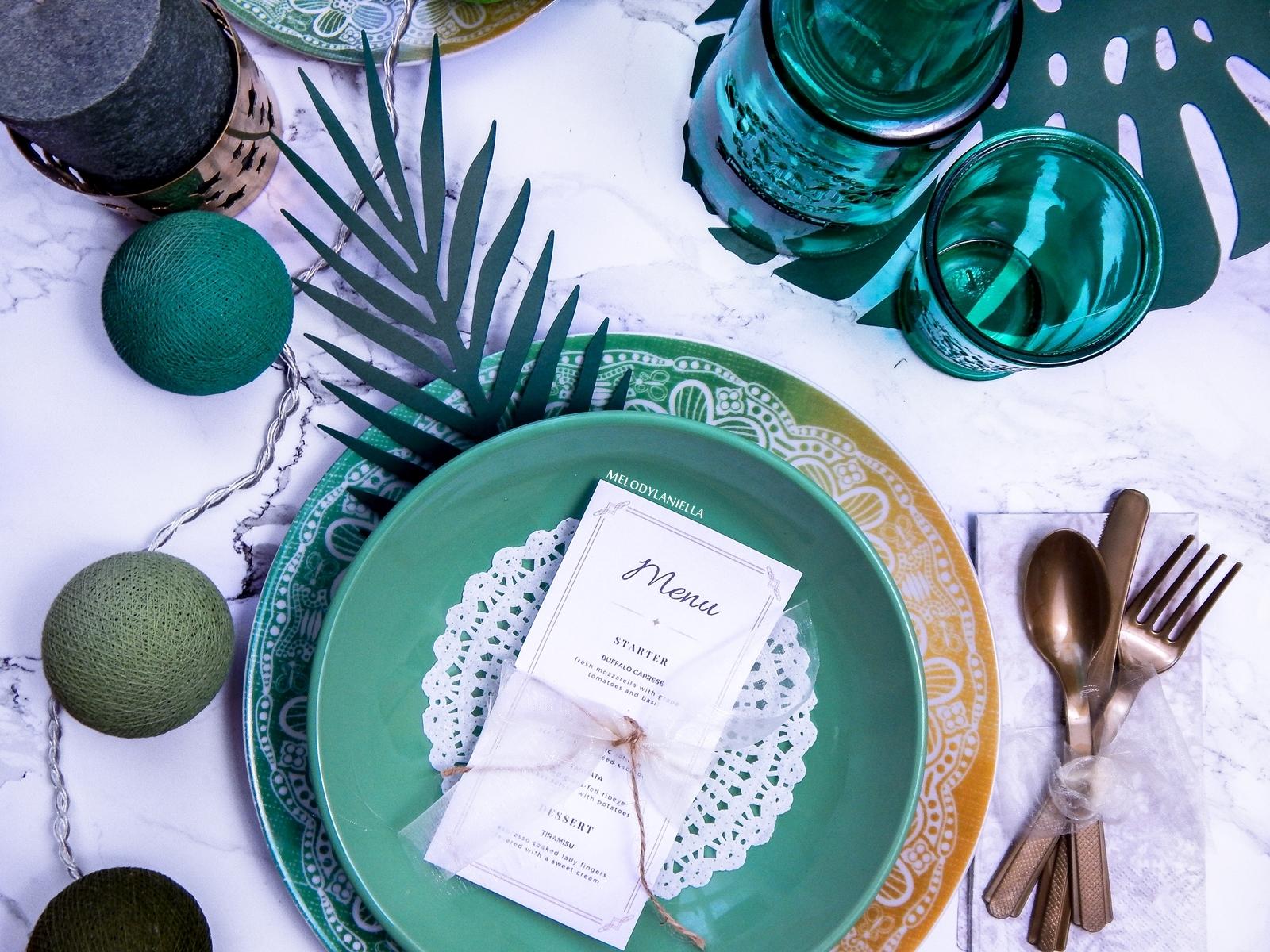 1 tropikalne dekoracje na imprezy partybox.pl dekoracje stołów ślub wesele wakacje urodziny impreza aloha dodatki do mieszkań cottonball led złote sztućce westwing świece opinie karafka szklanka duka
