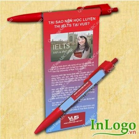 bút bi banner quà tặng