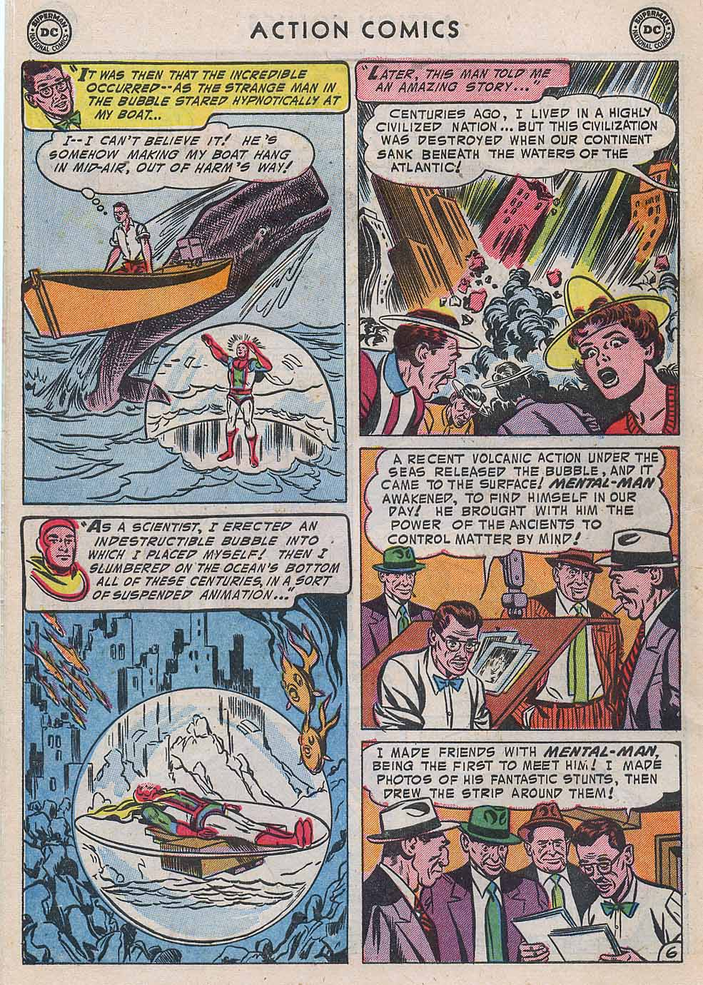 Read online Action Comics (1938) comic -  Issue #196 - 8