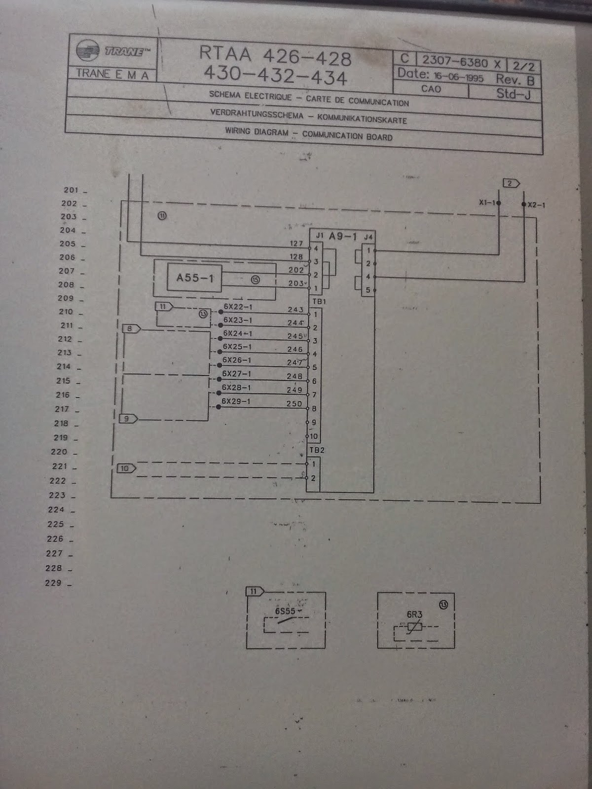 trane chiller wiring diagram time delay relay rtaa waterfurnace diagrams