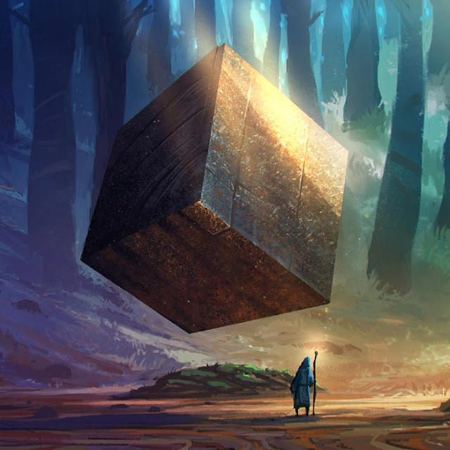 Fantasy World Cube Wallpaper Engine