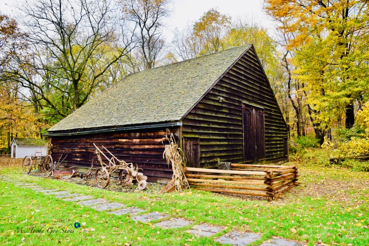 VanRiper-Tice Barn at The Hopper Goetschius Museum in Upper Saddle River, NJ | Ms. Toody Goo Shoes