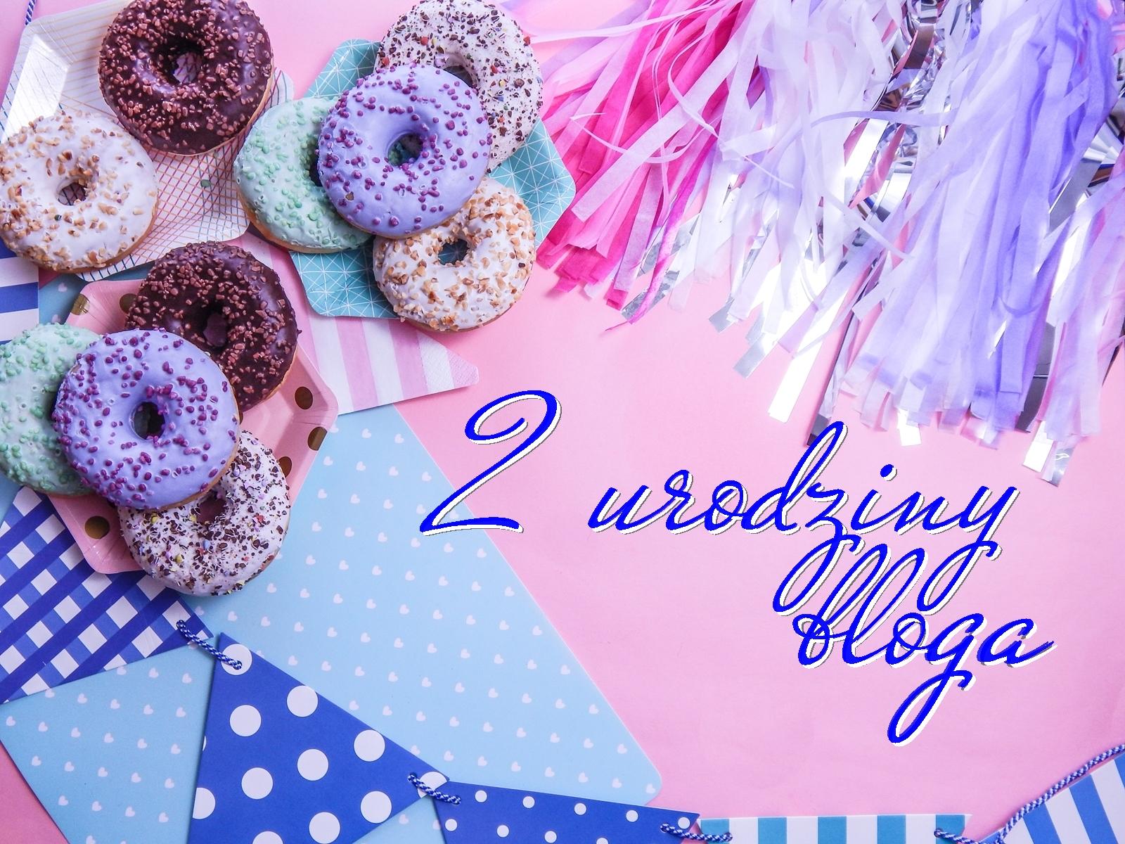 1_nagłówek konkurs 2 urodziny bloga melodylaniella nagrody wygraj kosmetyki serum liqpharm kosmetyki zielone laboratorium do wygrania choker pędzle do makijażu mleczko odżywka donuts birthday happy rozdanie