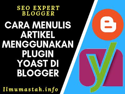 Cara Menulis Artikel Menggunakan Plugin Yoast di Blogger