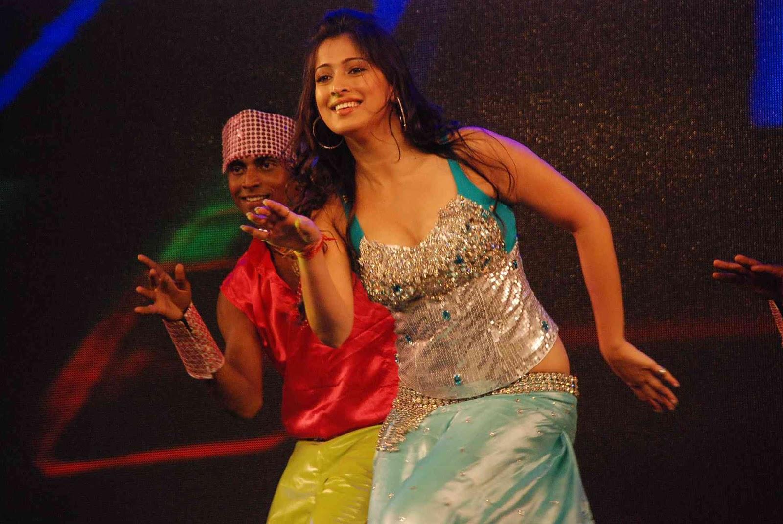 Lakshmi rai dancing on stage