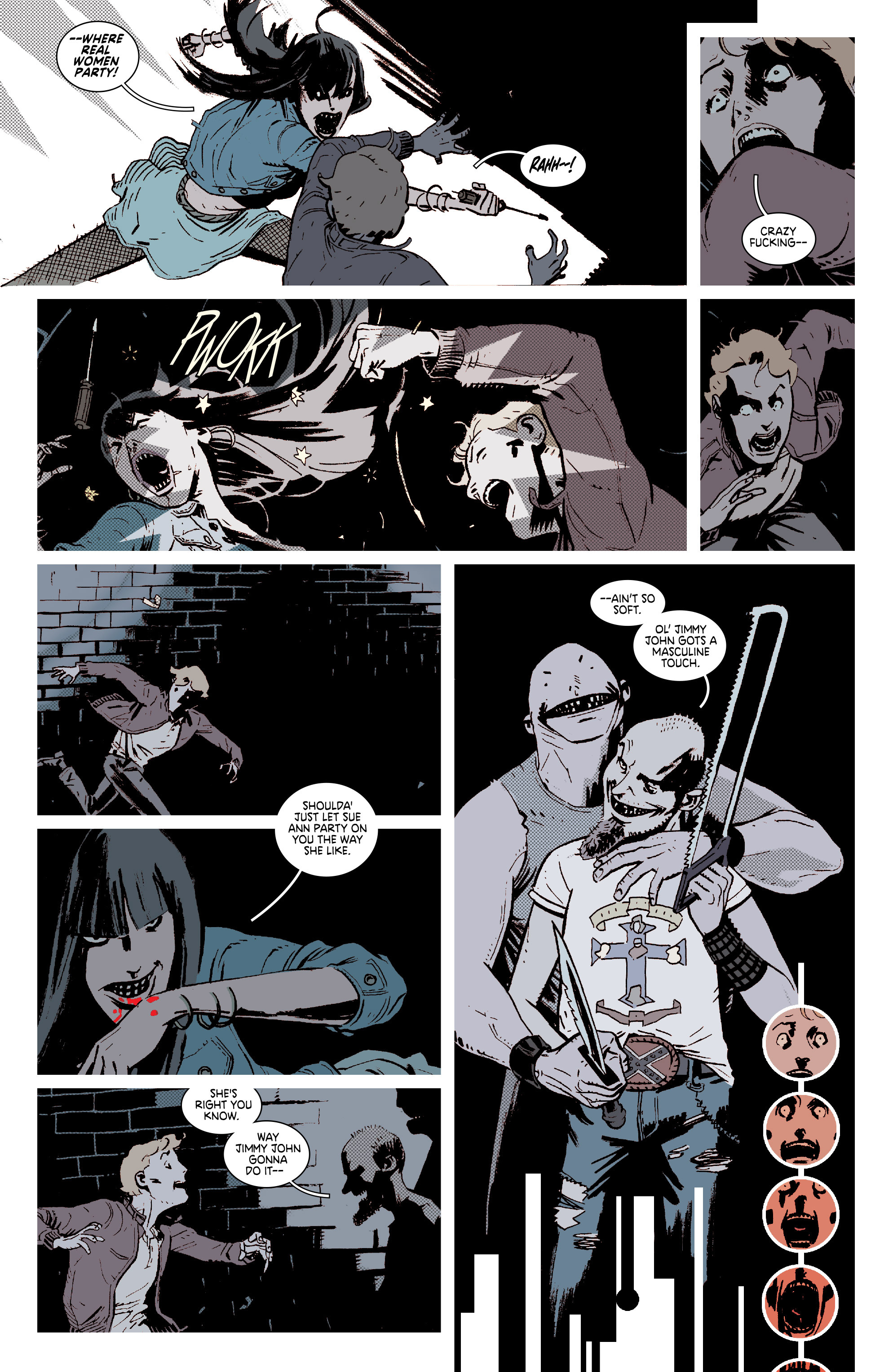 Read online Deadly Class comic -  Issue #7 - 5