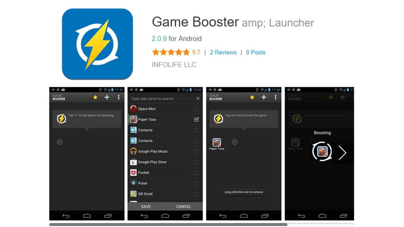 Download game booster di android