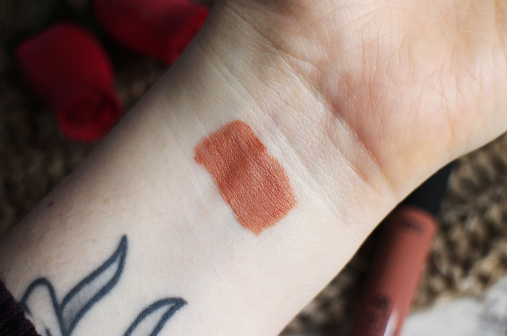 The Body Shop Matte Liquid Lip in Windsor Rose