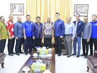 Wali Kota Terima Audiensi Pengurus DPD Partai Nasdem Kota Medan