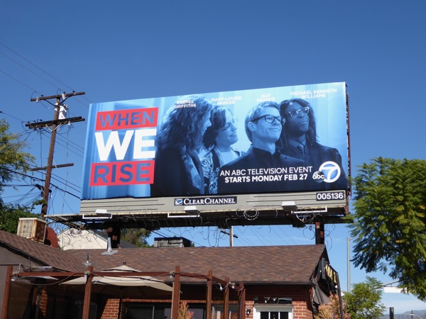 When We Rise series premiere billboard