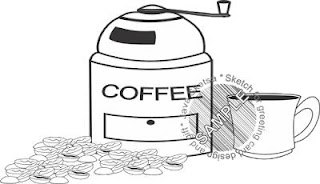 coffee grinder clipart