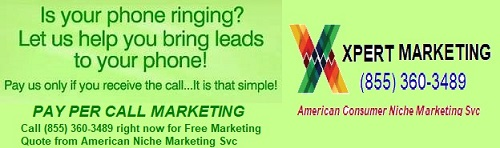 Pay per call marketing experts, we generate tax leads, student loan debt leads, credit repair leads.
