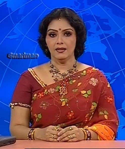 A4 Adult: Busty Tv News Reader Fathima Becomes Sexy