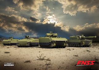 Medium Tank Kerjasama PT Pindad dan FNSS Turki