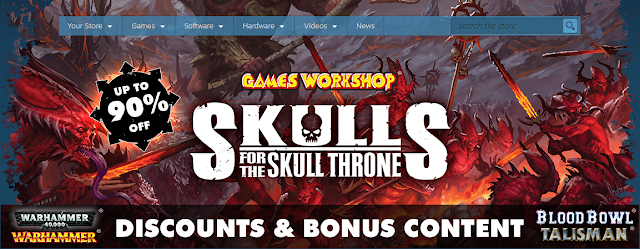 Skulls for the Skull Throne: Big Discounts for Warhammer Video Games
