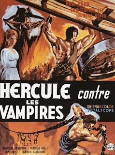 HERCULE CONTRE LES VAMPIRES, french poster, affiche, péplum, fantastique, Mario Bava