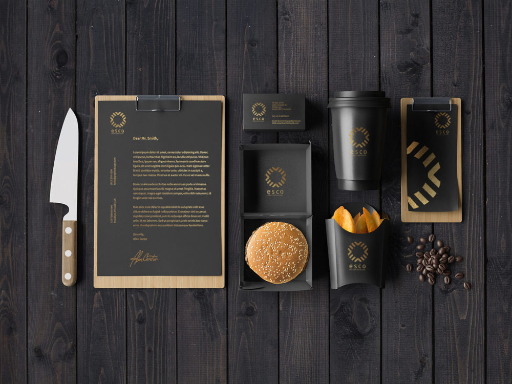 570 Best Fast Food Branding And Packaging Mockup Graphic Design