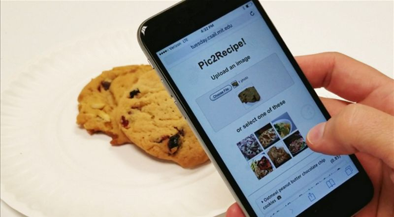 Aplikasi Pic2Recipe (finedininglovers.com)