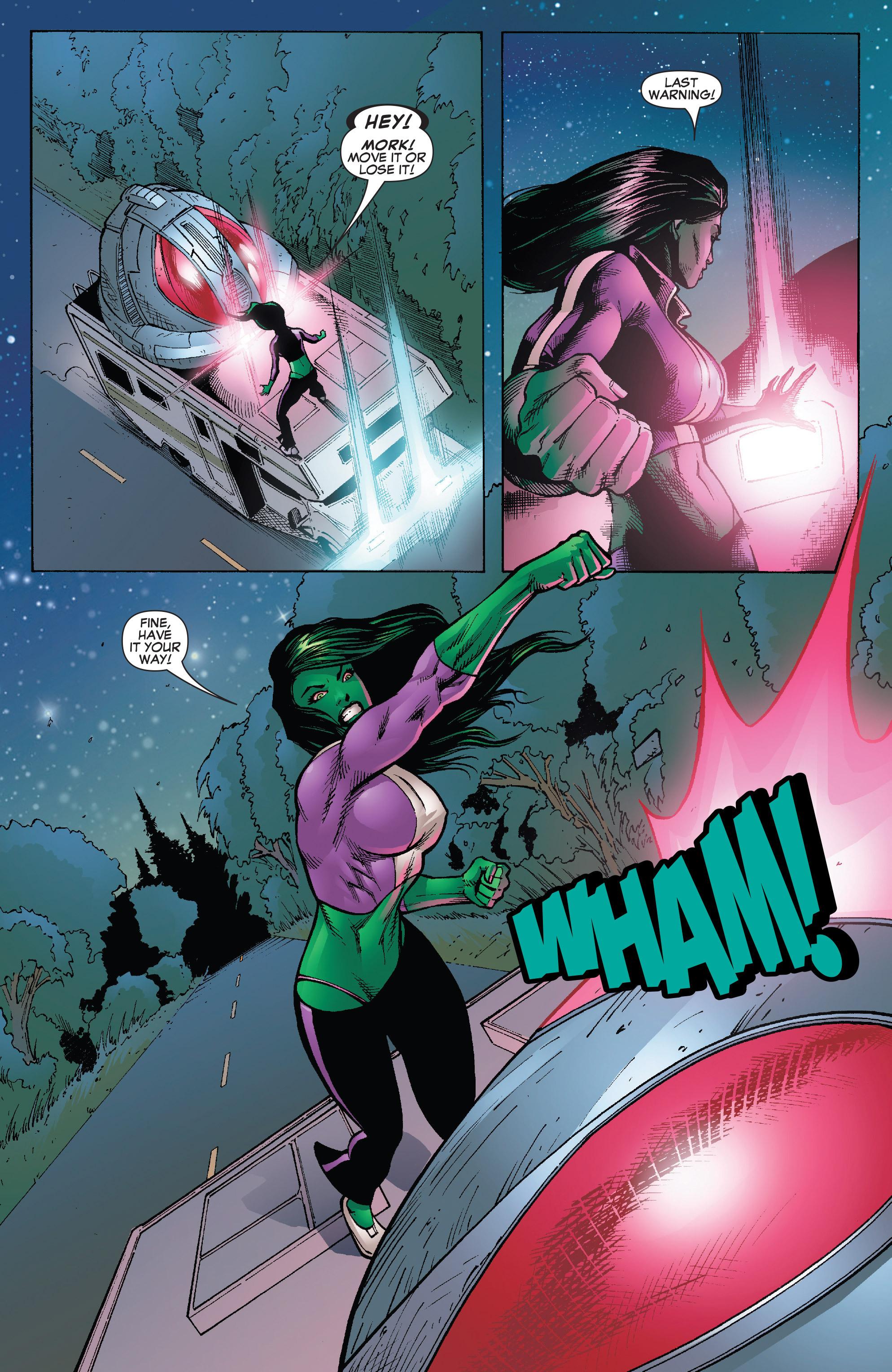 Read online She-Hulk (2005) comic -  Issue #25 - 9