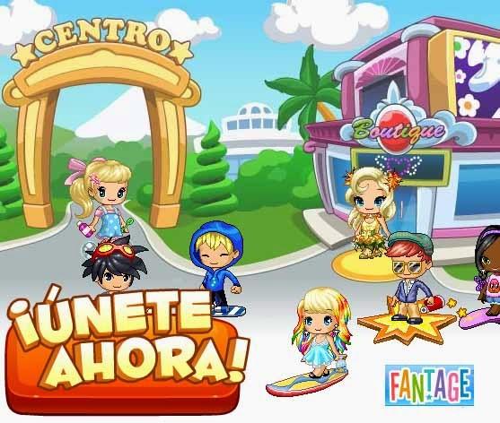 Fantage Fantastico Mundo Virtual Educativo Y Social Para Ninos