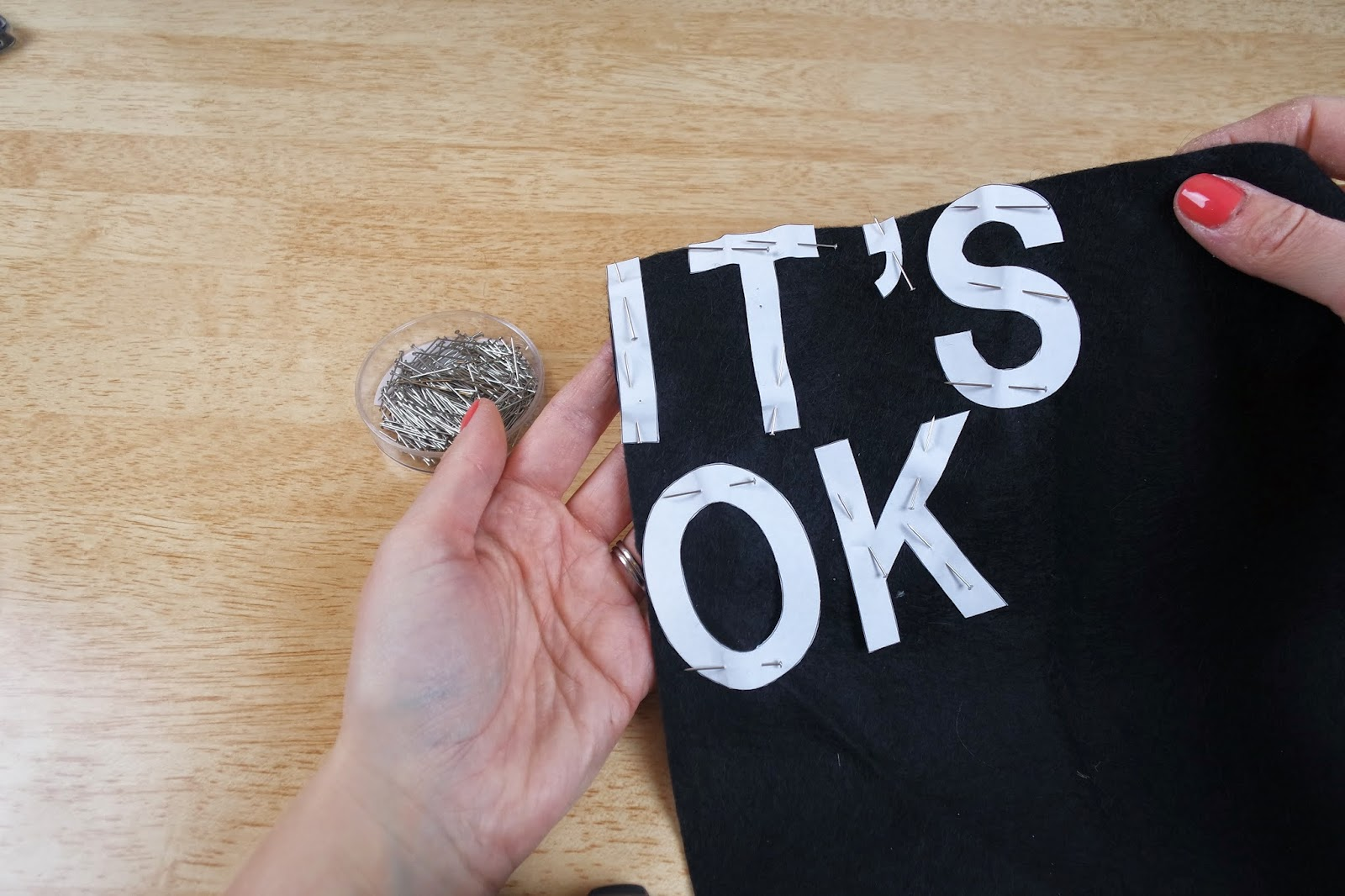diy it's ok banner