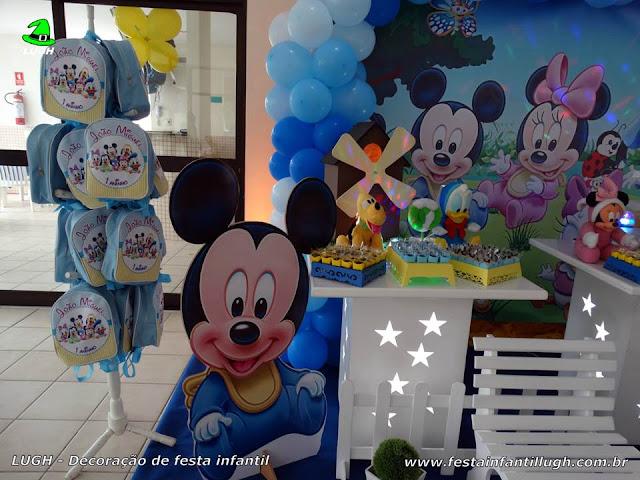 Festa de aniversário baby Disney - provençal