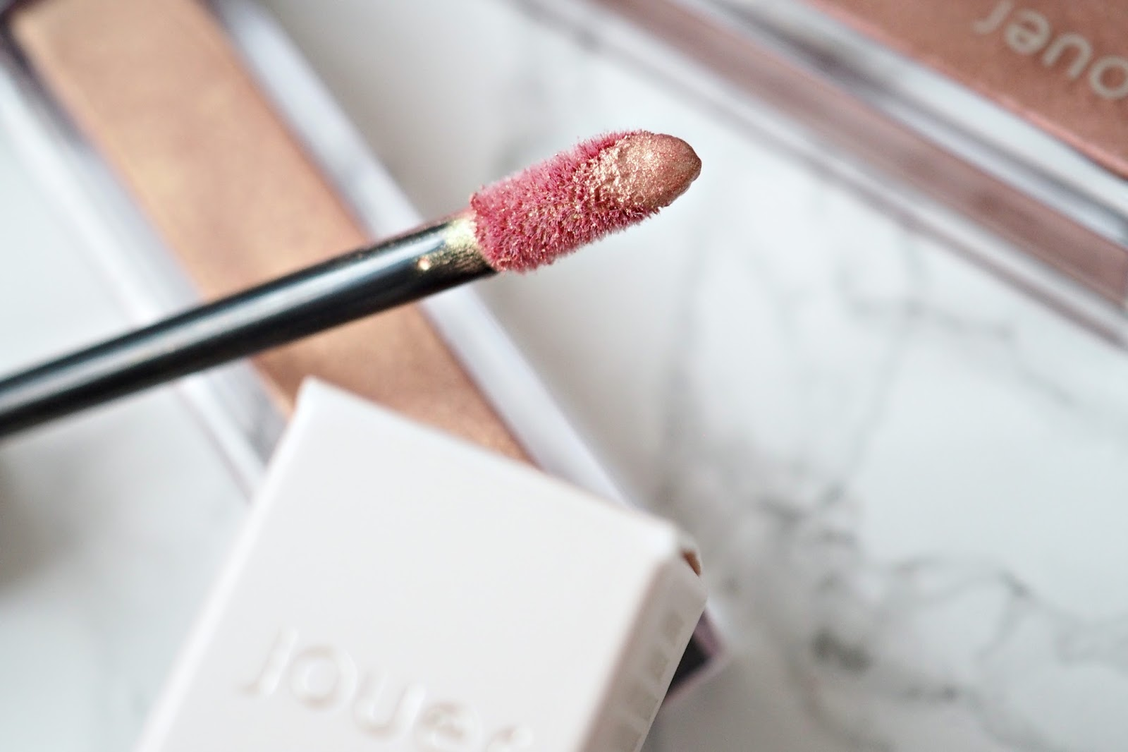 Jouer Cosmetics long lasting Lip Creme Lipsticks in 'Papaye' Review & Swatches