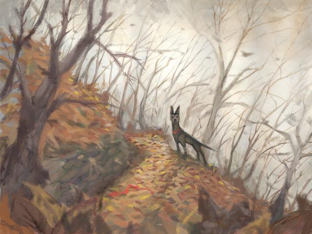 dog-woods-sketch