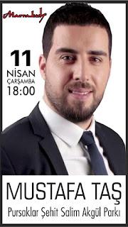 11 Nisan 2018 - Pursaklar Mustafa Taş - Tuğba Yurt Konseri (Marrakesh Açılış Konseri)