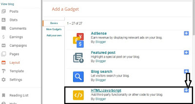 Facebook Like Widget Popup for BLogger