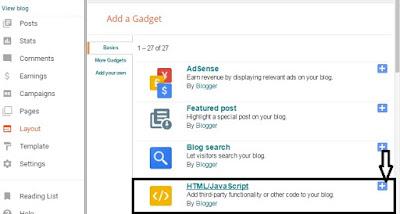 Facebook Like Widget Popup for BLogger