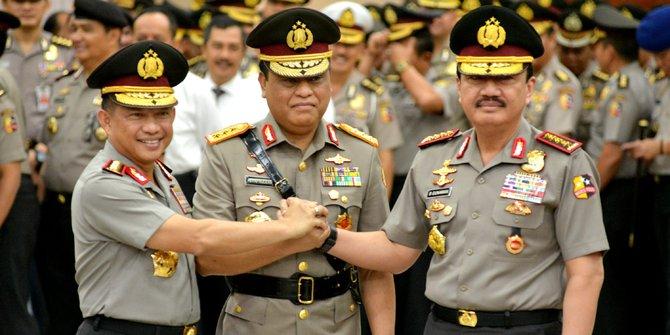 Dua Jenderal Polisi Ini Disebut Bisa Dampingi Jokowi di Pilpres 2019