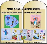 http://www.biblefunforkids.com/2013/10/moses-10-commandments.html