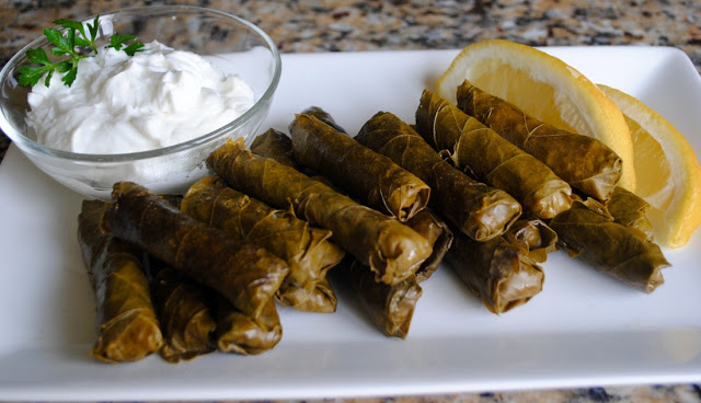 Stuffed Grape Leaves are not the quickest to prepare STUFFED GRAPE LEAVES RECIPE