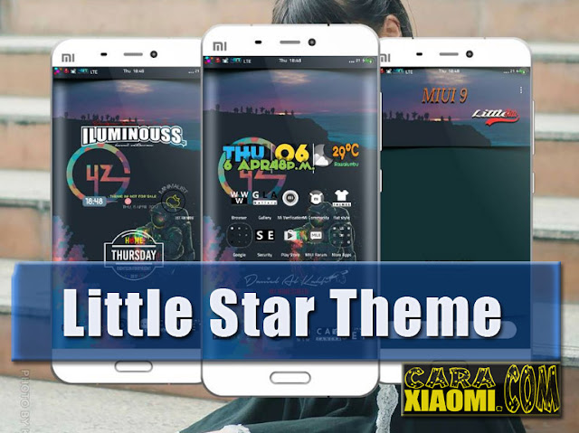 Update Tema Little Star Themes Mtz for Xiaomi MIUI by Daniel