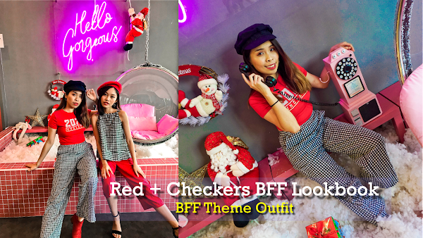 Red + Checkers BFF Lookbook - BFF Theme Outfit