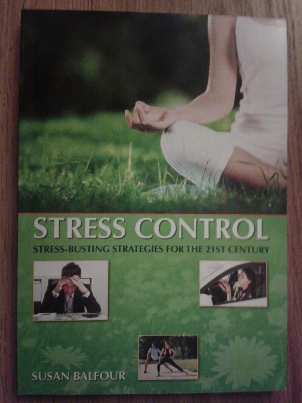 Self help stress management book - Stress Control by Susan Balfour