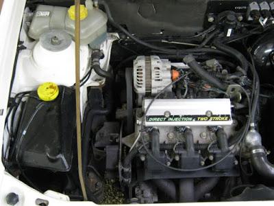 La inyección electrónica en el motor dos tiempos