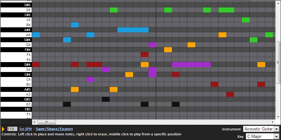 musiikin online materiaaleja 143 online sequencer by buildism