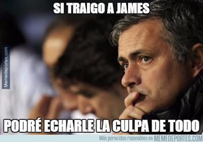 Mourinho quiere a James
